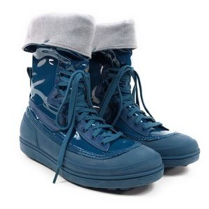 Nike Storm Warrior Retro Sneaker Boots Space Blue